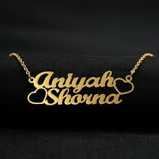 whole custom name necklace women