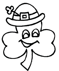 Small Picture three leaf clover coloring page southwestcollectiveco