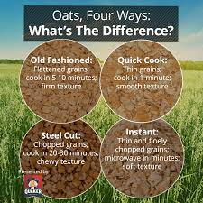 the difference between our oats