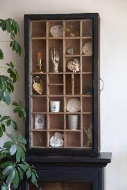 glass antique wooden sliding wall