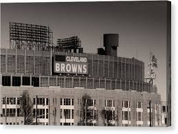 cleveland browns canvas print the hometeams by kenneth krolikowski on cleveland browns canvas wall art with cleveland browns canvas prints fine art america