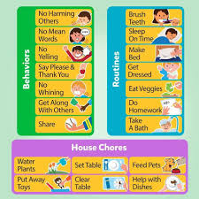 my responsibility chart d fantix magnetic responsibility chart chore chart for