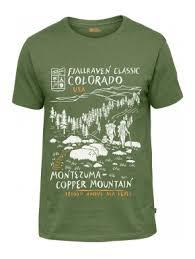 <b>Футболка Fjallraven Classic</b> US T-Shirt — в Категории ...
