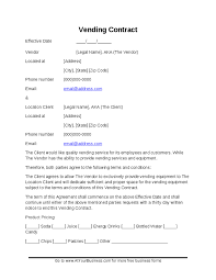 Vending Machine Site Agreement New Vending Machine Contract OnceforallUs Best Wallpaper 48