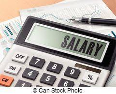 Salary Calculator Salary calculator shows pay salaries and calculate Salary stock 24