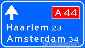 Afbeeldingsresultaat voor snelwegbord