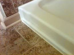 bathtub floor trim bathtubs chic images sealer around