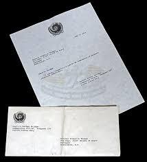Seaquest Dsv Television Prop Resignation Letter Envelope