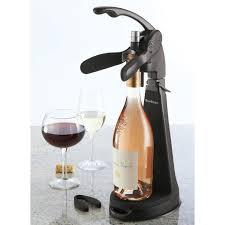 standing wine opener. Countertop Wine Bottle Opener Brookstone Standing