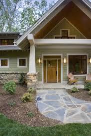 front door gable exterior craftsman with garden lighting walkway outdoor lighting