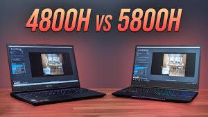 AMD Ryzen 7 5800H vs Intel i7-10875H - Best 8 Core Laptop CPU? - YouTube