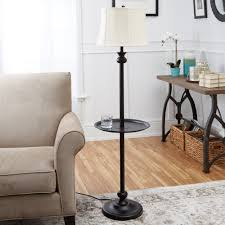 furniture floor lamps with table traditional lamp attached pottery