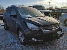 2016 ford escape black. Delighful Black 1FMCU9JX5GUC39432  2016 FORD ESCAPE TIT 16L Left View For Ford Escape Black
