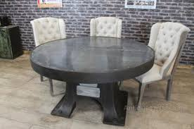 antiques atlas zinc top round dining table vintage in ideas 8