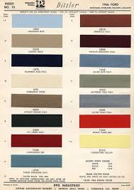 2012 Mustang Color Chart 1966 Mustang Paint Colors