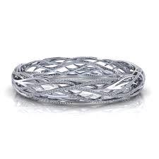 Diamond Bangles Designs Images Woven Diamond Bangle Bracelet
