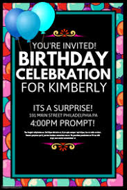 Free Birthday Posters Create A Free Birthday Poster In Minutes Postermywall
