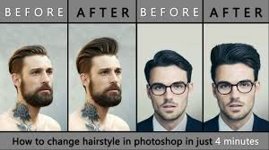 How To Change Hair Style how to change hairstyle in photoshop easy & fast new 2017 trick 4418 by wearticles.com