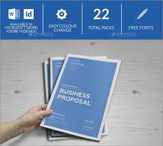 microsoft word business proposal template 100 best photo realistic project proposal templates