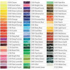 Derwent Coloursoft Color Chart Derwent Coloursoft Pencils All Colours George Weil