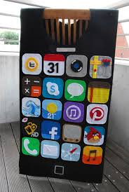 iphone costume. for those of you who don\u0027t live in japan, there may be some unfamiliar apps ~ the yellow circle at top is train app {terrific plugging a iphone costume