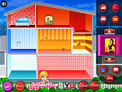 play doll house decoration game game online y8 com