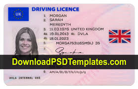 Kingdom United Drivers editable Psd Template License Uk