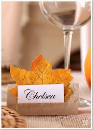 Fall Place Cards Fall Place Card Holders For Any Occasion In My Own Style
