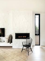 stone fireplace painted white stone fireplace surrounded painted white stacked stone fireplace painted white