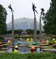 st louis mo the world renowned missouri botanical garden in st