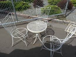 Vintage Iron Inspiration Patio Chairs With Homecrest Patio
