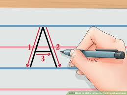image led make letters of the english alphabet step 2