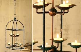 farmhouse candle chandelier outdoor candle r non electric home design ideas inside industrial farmhouse hanging iron