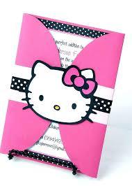 invitation card hello kitty hello kitty invitations madarshahi