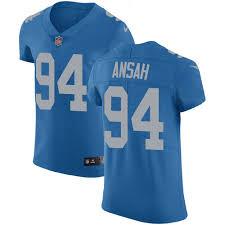 Official Nfl Online Ziggy Jersey Detroit Jersey Ansah Authentic Lions