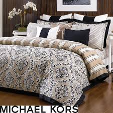 michael kors sumatra 3 piece king size comforter set
