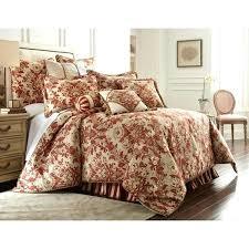 horn classics mount rouge 3 piece luxury comforter set austin bedding brocade horn classics