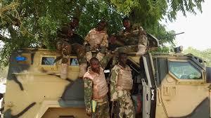 Image result for nigerian troops enmasse
