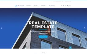 real state template realtor real estate html5 responsive website template