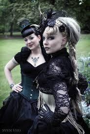 Znalezione obrazy dla zapytania goth styl ubierania