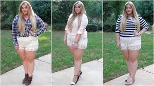plus size women tumblr the curvy diaries lace shorts plus size lookbook youtube