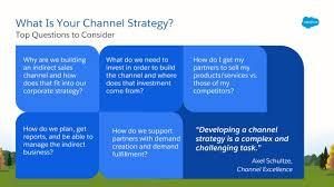 Develop Your Channel Strategy Unit Salesforce Trailhead