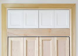 adding extra deep cabinets above our closet