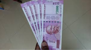 Image result for new 2000 rupee note
