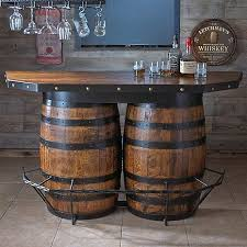 Lovable Barrel Bar Table With Best 25 Wine Ideas On Home Regard To Plan 12  Dr. Art Wilson a
