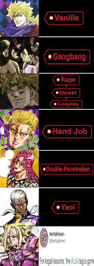 The Jojo Villain Chart Fixed Shitpostcrusaders