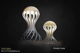 led bollard light octopus lamp