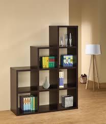 staggered bookshelves bookshelf pleasant design  bookcases etc
