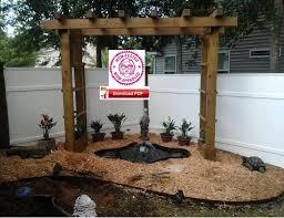 wood arbor plan trellis plan planter