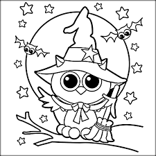 Free Printable Halloween Owl Coloring Pages Halloween Owl Coloring